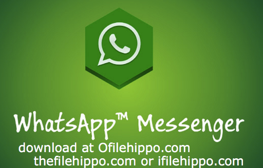 Filehippo WhatsApp 2017 Free PC and Android Apk