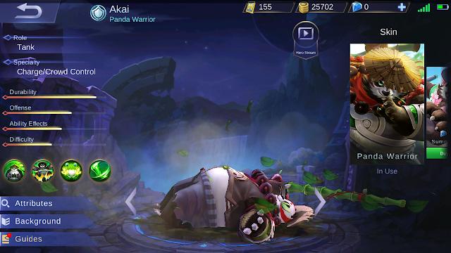 Akai Mobile Legends