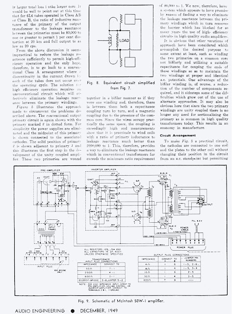 description and analysis of a new 50 watt amplifier circuit
