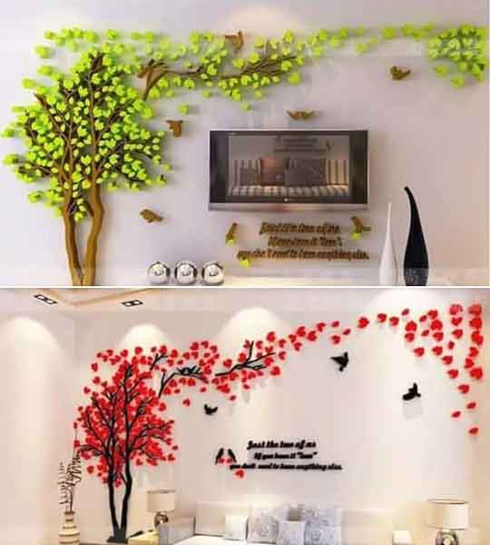 Hiasan Wallpaper Dinding Kamar 3D untuk Dekorasi Rumah