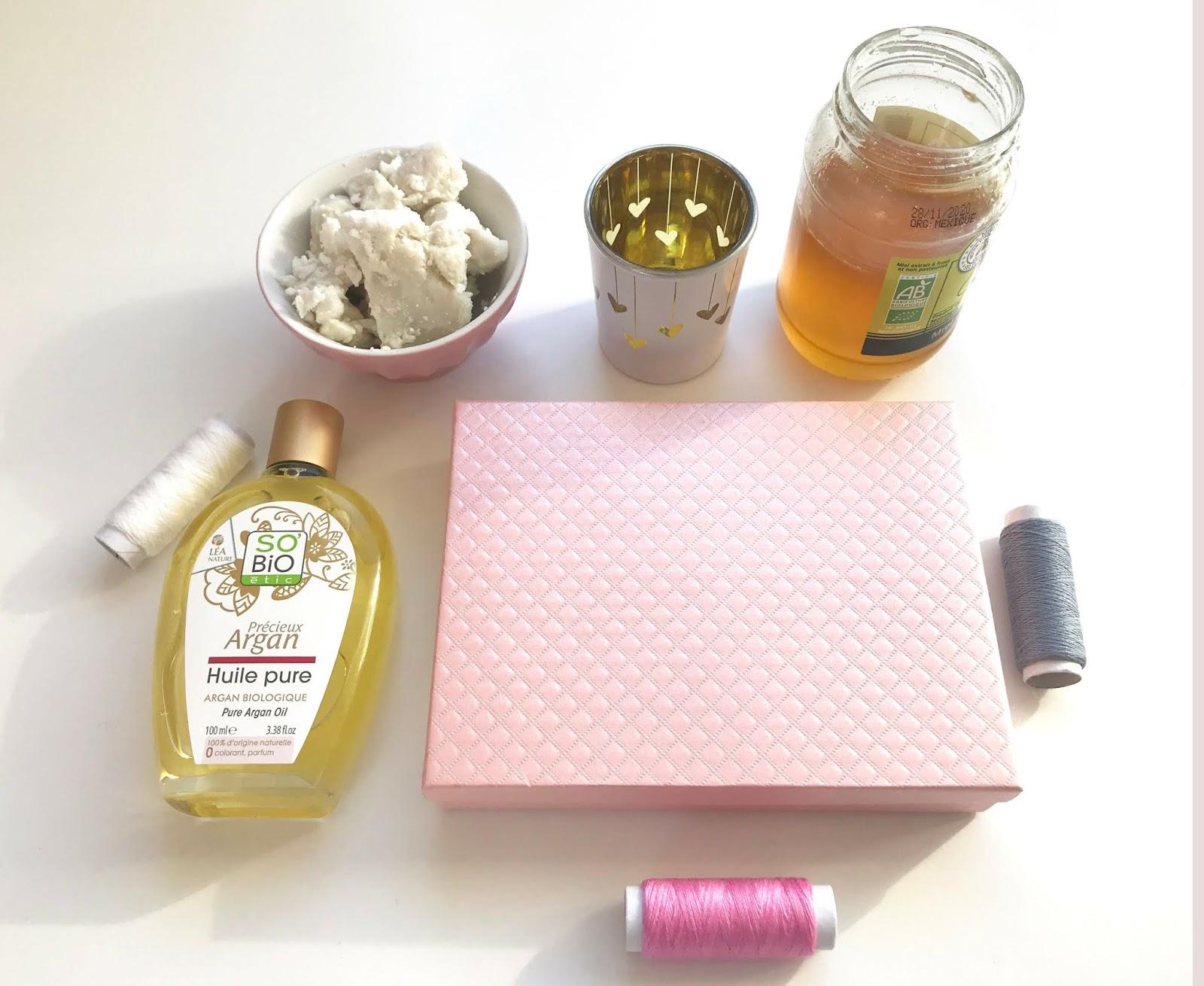 Masque karité miel et huile de coco Jenmag