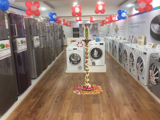 Store Interior  Bosch Household Appliances,Home appliances,Chennai,Retail,Business,Store,Launches