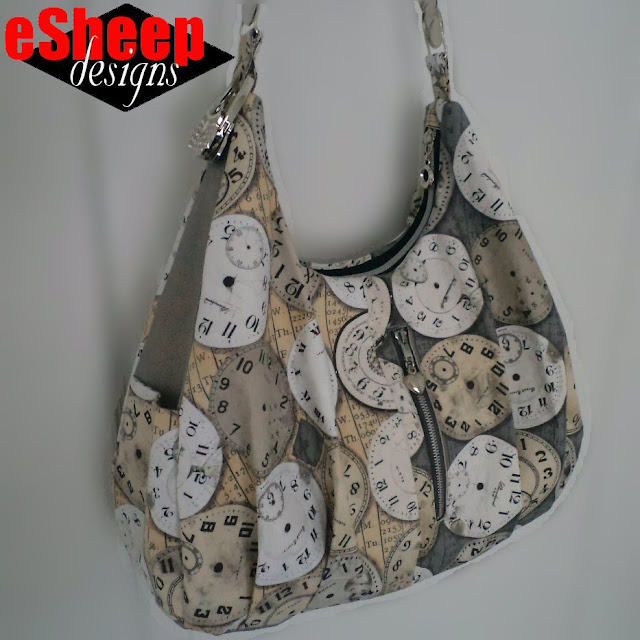 Customized iThinkSew Seth Bag crafted by eSheep Designs