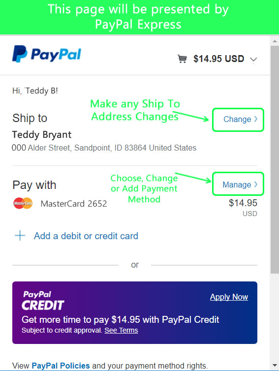 How Can I Use Paypal Express Checkout to Shop? - Gift Ideas