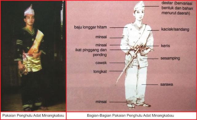 Gambar Pakaian Adat Minangkabau (Penghulu)