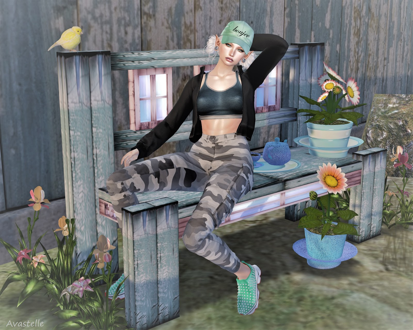 573360085f9a2 SL F&O - THE FASHION BLOG: Camo chameleon