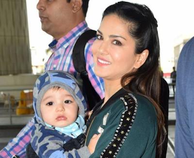 बेहद क्यूट हैं सनी लियोनी के बच्चे, वायरल हो रही हैं तस्वीरें | Entertainment news