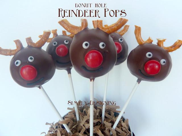 reindeer donut pops 05a Donut Hole Reindeer Pops 44