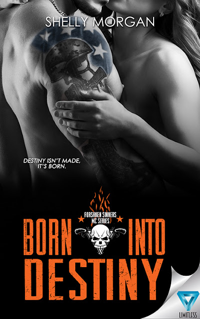Cover Reveal for Born Into Destiny by Shelly Morgan