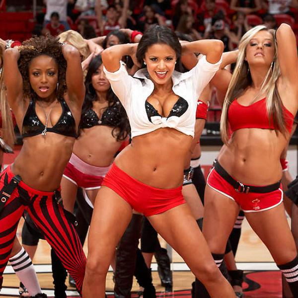 Risk seem Nude nba cheerleader dancers