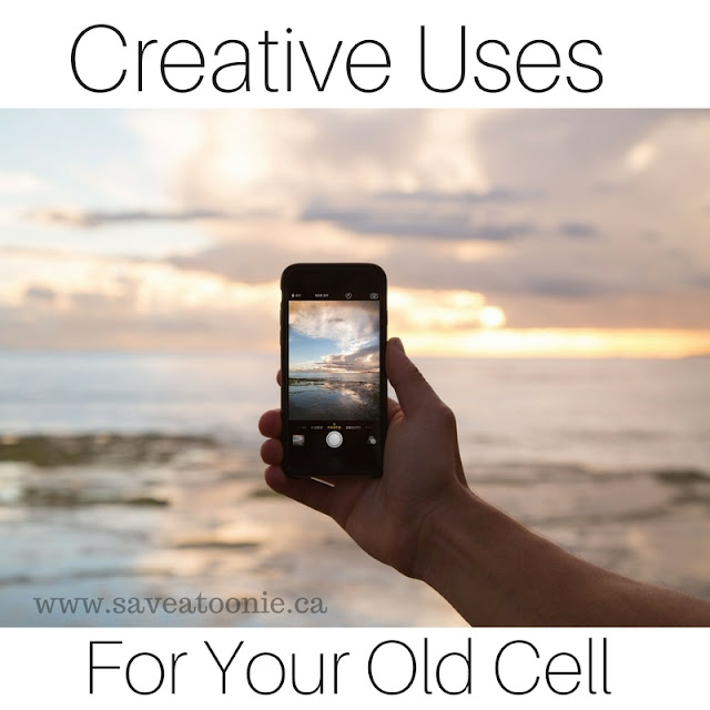 creative uses for your old cell