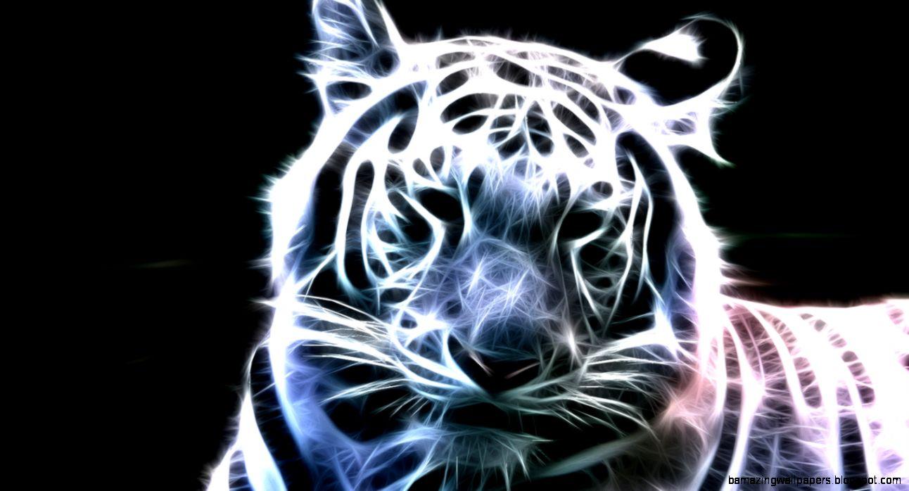 white tiger wallpaper 3d