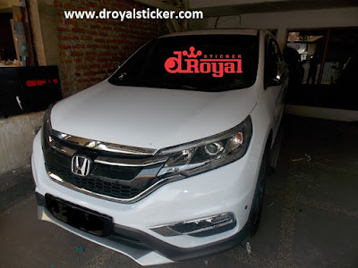 sticker crv
