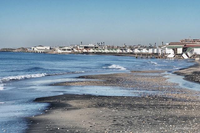 Lido di Ostia - Plaja pustie (2) - blog FOTO-IDEEA