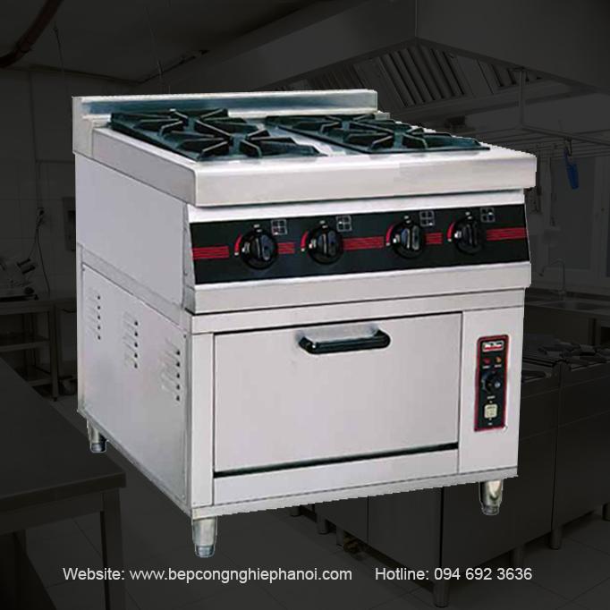 Bếp Âu công nghiệp các loại chuyên dụng cho bếp nhà hàng, khách sạn