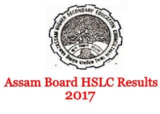Assam HSLC Results