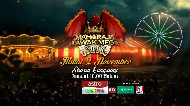 Live Streaming Persembahan Maharaja Lawak Mega 2018 Minggu 10 [4.1.2019]