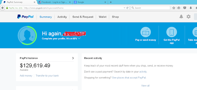 PayPal Money Adder 2018 V7.3.2 Free UPDATED