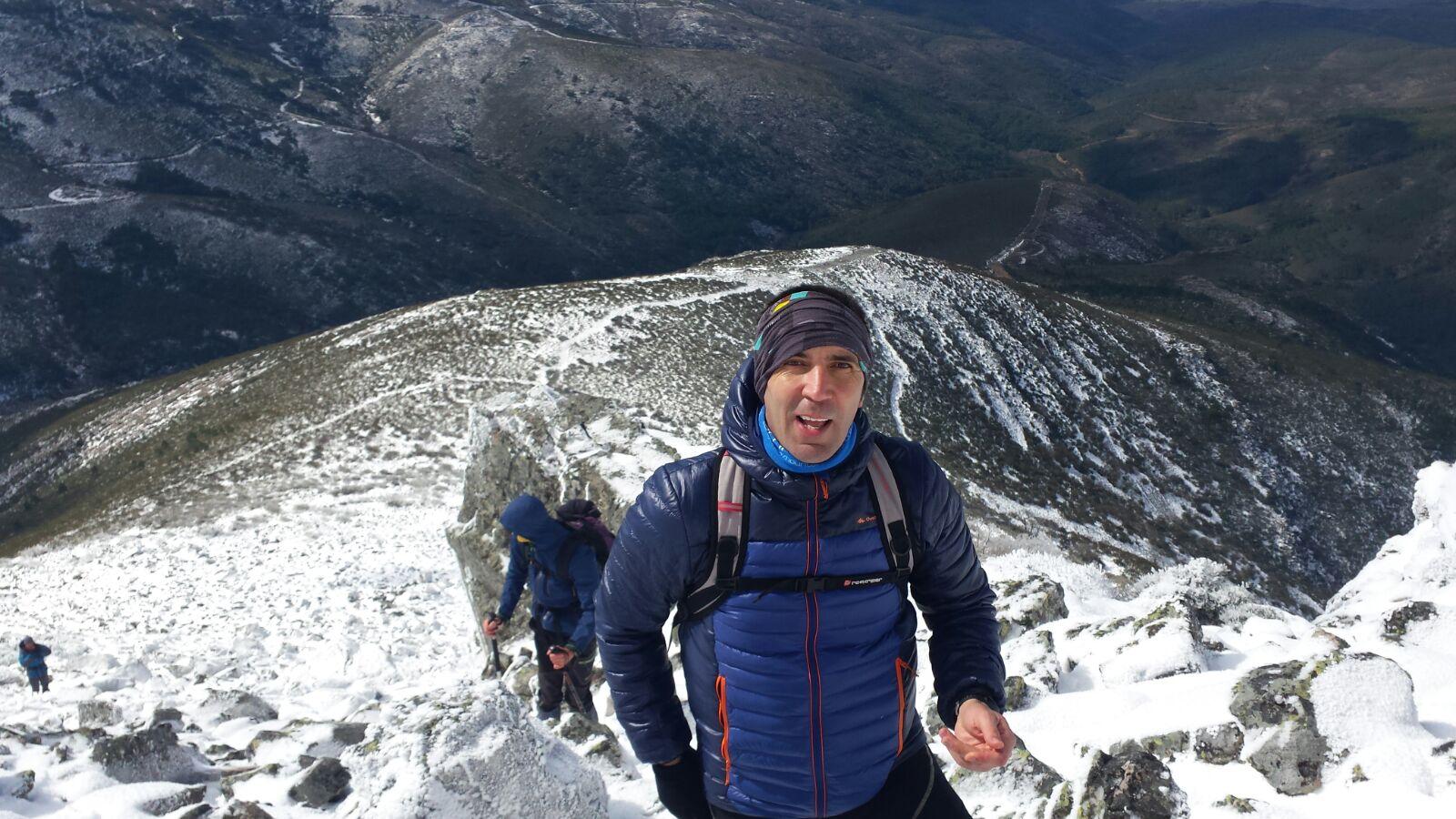 Laureano Castilla, de Tres Valles. /TRAILCYL
