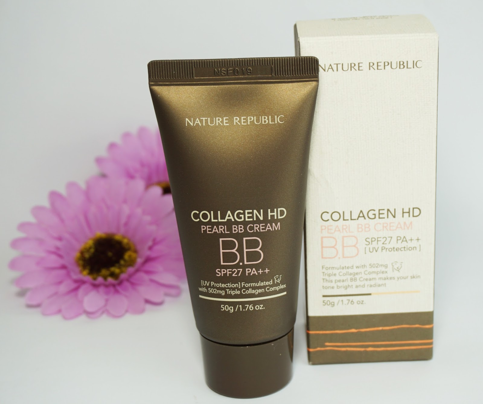 Nature Republic - Collagen HD Pearl BB Cream