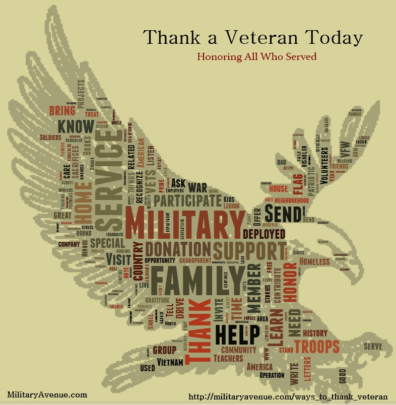 The Military-Family: Thank A Veteran