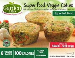 Garden Lites Superfood Veggie Cakes Superfood Blend
