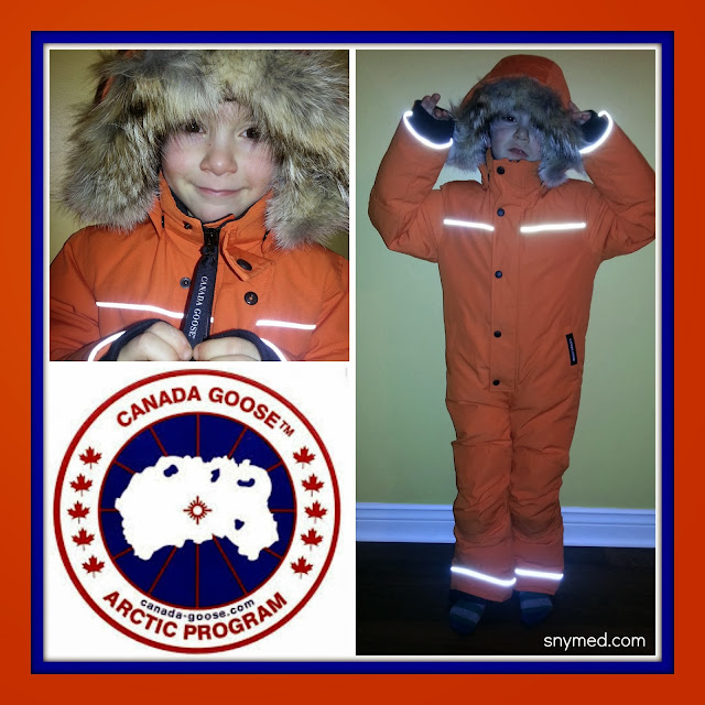 6abfc610a Canada Goose Kid s Grizzly Snowsuit Bites Winter Back! ~ snymed