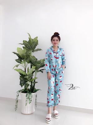 Đồ bộ pijama tay dài quần dài loại tốt nhất