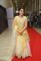 Nivetha Thamos in bright yellow dress at Ninnu Kori pre release function ~  Exclusive (25).JPG