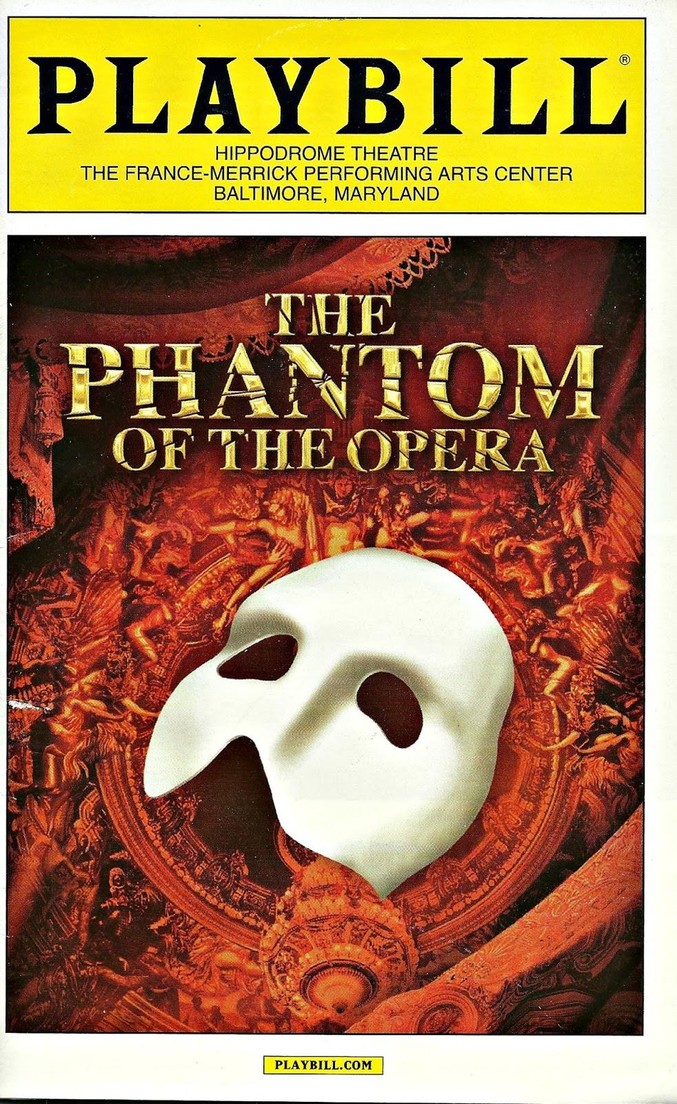 The Phantom of the Opera  Bekah Loves