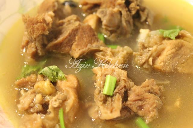 Sup Tulang Daging Korban