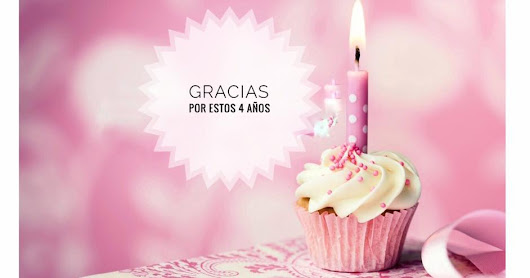 4to. Aniversario del Blog