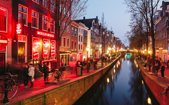 amsterdam red light district
