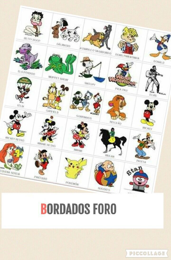Bordados Disney 1500 diseños - BORDADOS FORO