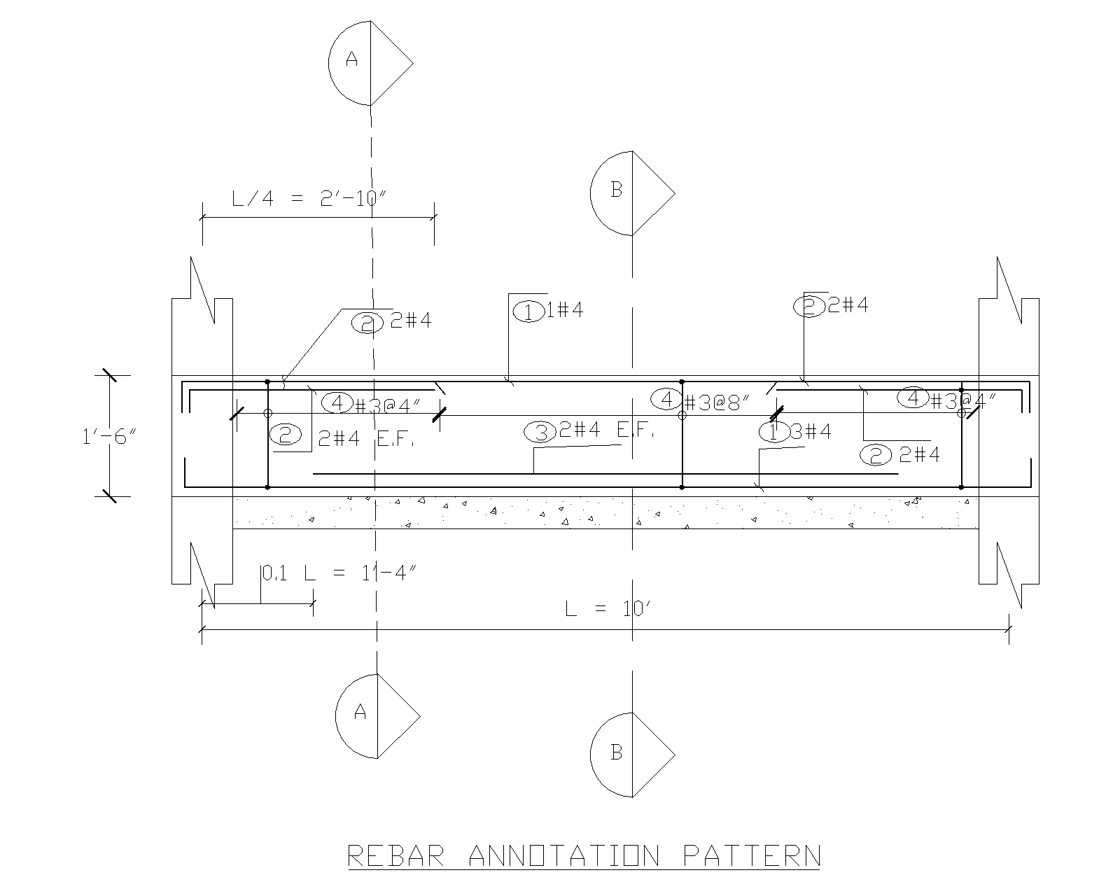 How To Construct Bar Bending Schedule Of A Rcc Beam