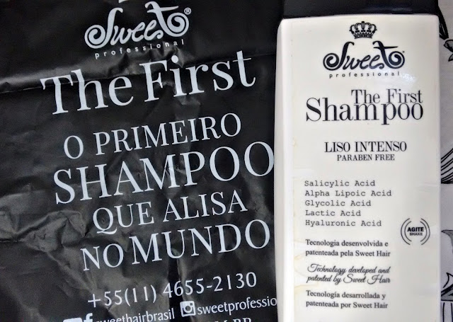 The First Shampoo que Alisa Sweet Profissional