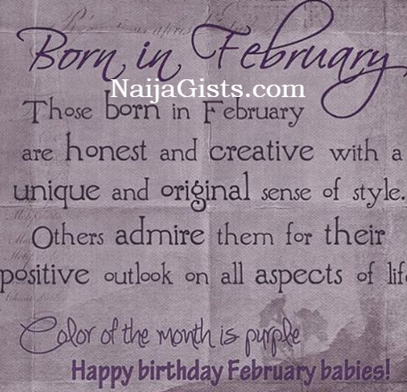 10 facts about people born in february