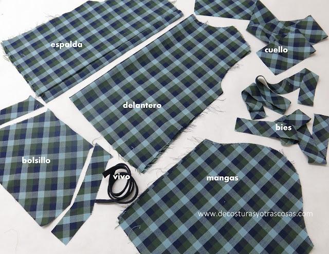proceso de confección blusa infantil