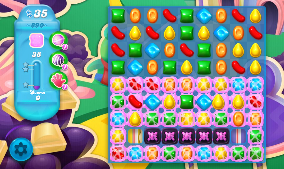Candy Crush Soda Saga 890