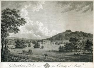 Godmersham Park, Kent, the Seat of Thomas Knight Esq.