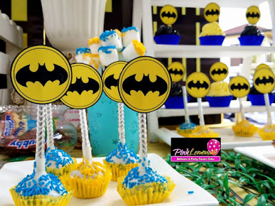 Batman themed Sweet Buffet