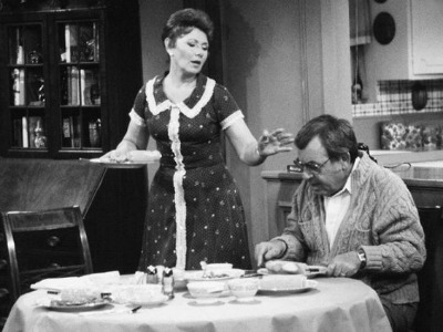 Marion Ross as Marion Cunningham in Shirtwaist Dress  in Happy Days Sitcom