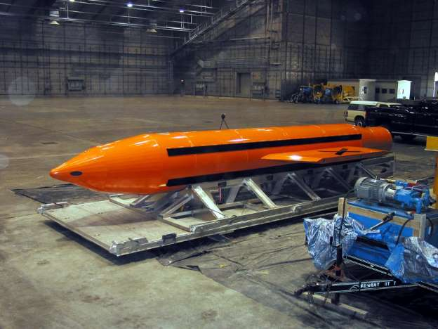 Here's How Much the 'Mother of All Bombs' Costs