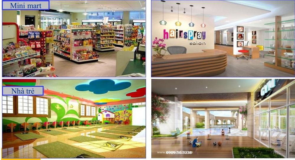 Tiện ích nội khu dự án Richstar Tân Phú
