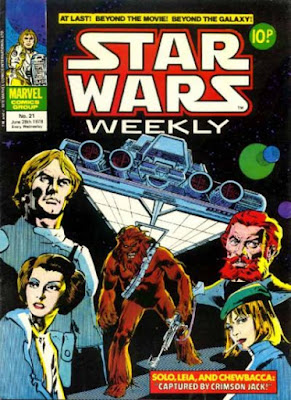 Star Wars Weekly #21, Crimson Jack