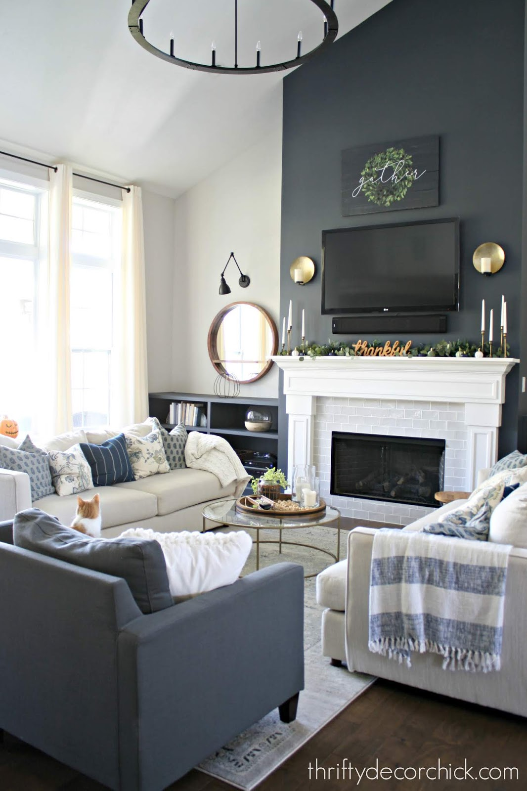 How to make a large room feel cozy