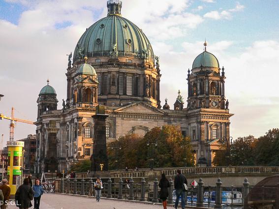 La catedral de Berlin. Berlin en 4 dias