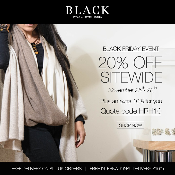 Duchess Kate: Black Friday: Exclusive Discount Codes & Kate