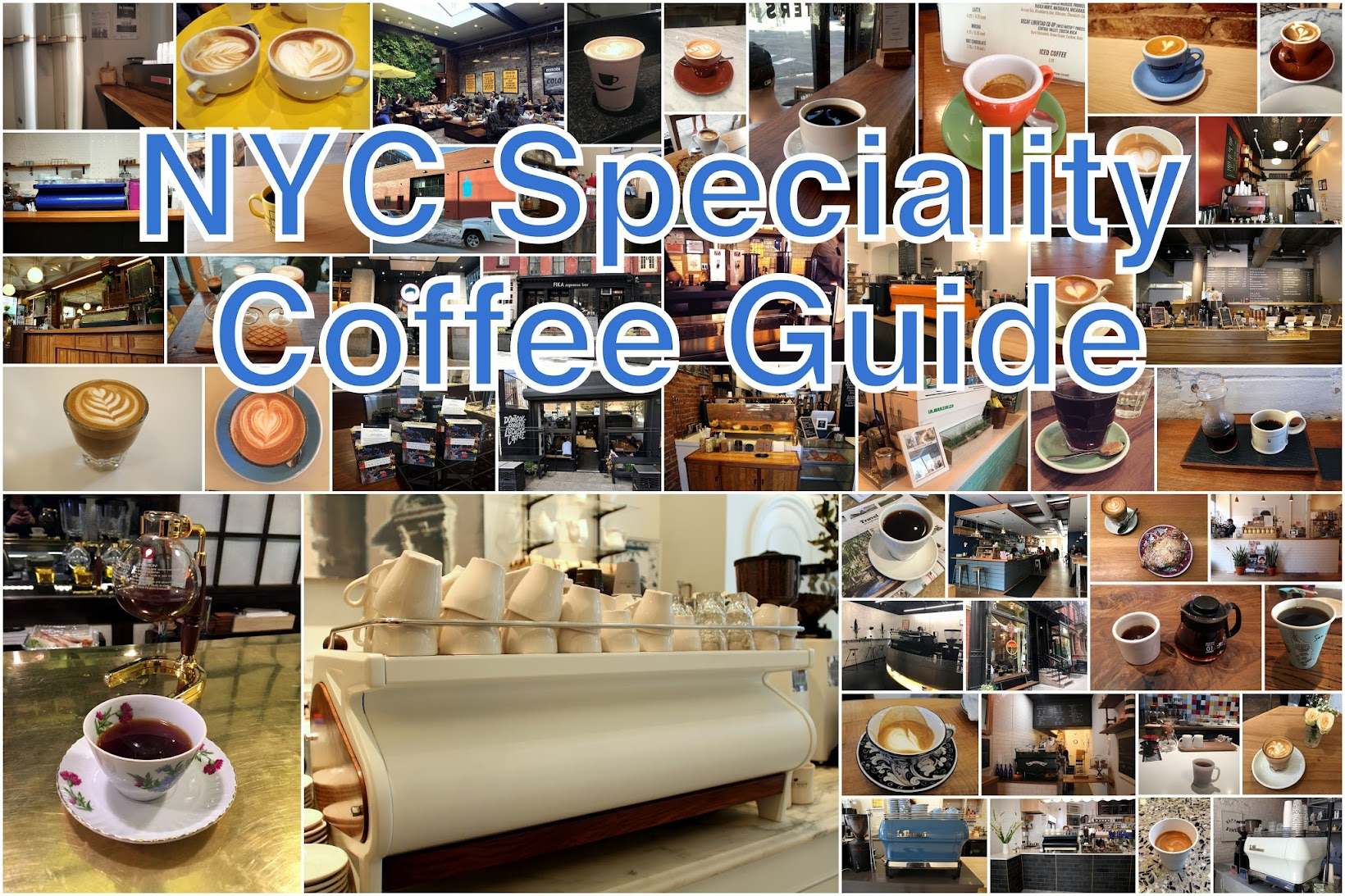 My Favourite NYC Speciality Coffee Shops
