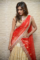 HeyAndhra Vithika Sheru Glamorous in Half Saree  HeyAndhra.com